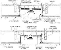 Curtain Wall House Plan Glass Curtain Wall Details Pdf Integralbook Com