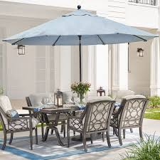 Market Patio Umbrella Patio Umbrellas The Home Depot