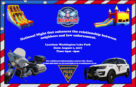 national night out washington township nj