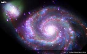 whirlpool galaxy chandra resources desktop patterns wallpaper