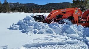 fel frame damage from snowplow use