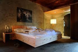 Schlafzimmer Mit Polsterbett Metallfreie Betten U203a Schlafstadl