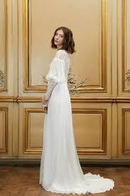 robe mariã e manche longue en images dix robes de mariée 2015 à manches longues l express