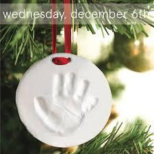 december 6 2017 wednesday handprint ornaments at