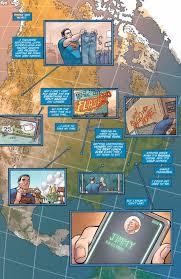 Dc Comics Map Dc Comics Preview Superman Is No Longer Super In Action Comics 41