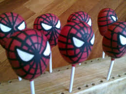 make your own spiderman cake pops for your movie snacks a diy