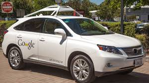 white lexus drag crash google u0027s self driving car turns out to be a very smart ride roadshow