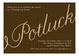 potluck fall festival invitations polka dot design