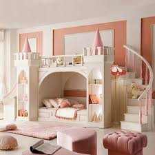 dream bedrooms for girls outstanding kids room best bunk bed for girls in white color sed