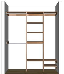 Shelf Organizer by Diy Closet Organizer Plans For 5 U0027 To 8 U0027 Closet
