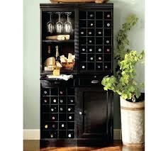 Pottery Barn Bar Cabinet China Cabinet With Wine Rack U2013 Abce Us