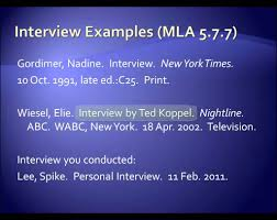 how to write an interview paper apa style mla style interviews youtube mla style interviews