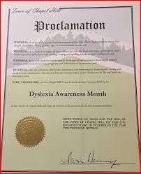dyslexia writing paper 2016 dyslexia awareness month decoding dyslexia north carolina chapel hill proclamation