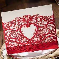 Cheap Party Invitation Cards Online Get Cheap Heart Birthday Invitations Aliexpress Com