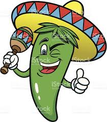 cartoon cinco de mayo festive jalapeno pepper stock vector art more images of cartoon