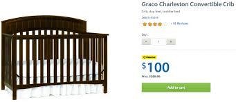 Walmart Convertible Cribs 33 Walmart Baby Cribs Clearance Middleton 3 In 1 Sleigh Crib