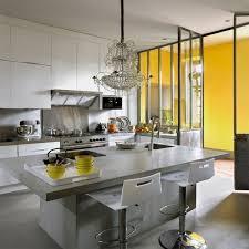 cuisine avec beton cire pour credence cuisine quel endroit poser du bton cir