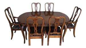 Country French Dining Room Chairs Ethan Allen Country French Dining Set Chairish
