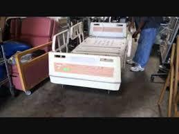 used hospital beds for sale refurbished used hill rom electric hospital beds for sale youtube