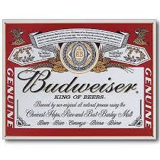 bud light tin signs budweiser label classic tin metal sign bud light beer alcohol new