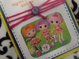 lalaloopsy birthday party invitations suncitypartycreations