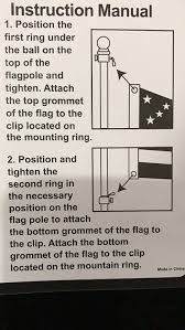 Position Of Flags Amazon Com Flag Pole Rotating Mounting Rings 2018 New Design 2