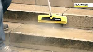 Patio Scrubber by Karcher Ps40 Power Scrubber Surface Cleaner Youtube