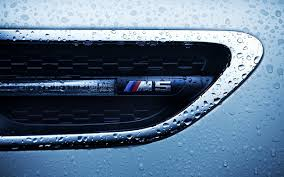 logo bmw bmw m5 logo close up water drops hd car wallpaper carwallbase