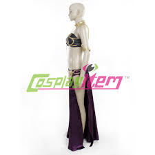cheap customized movie women star wars slave princess leia costume