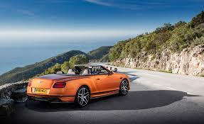 bentley sports car rear 2018 bentley continental supersports cars exclusive videos and