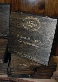 wooden groomsmen gifts best 25 cigar box wedding ideas on groomsmen gift box