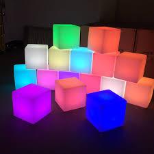 led cubes tredmark furniture hire