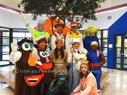 office group halloween theme ideas group toy story halloween