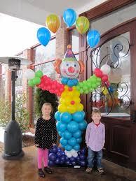 clown balloon clown with single arch