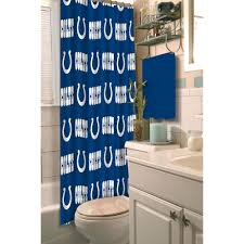 nfl indianapolis colts decorative bath collection shower curtain