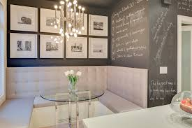 Built In Bench Seat Dimensions Modern Kitchen Booth Interior Design