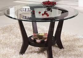 Round Glass And Metal Coffee Table Coffee Tables Circular Glass Coffee Table Favorite Circular