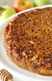 apple upside down cake with honey gluten free whole grain