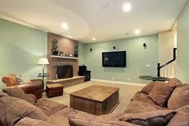 heres a bright basement color option best colors for basements