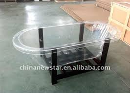 transparent bathtub transparent safety glass bathtub china mainland bathtubs whirlpools