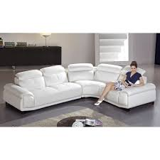 Cheap White Leather Sectional Sofa Salerno White Leather Sectional Sofa Ugalleryfurniture