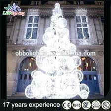 white outdoor lighted christmas trees outdoor white metal lighted christmas tree yassemble co