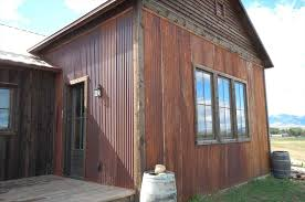 Metal Siding For Pole Barns White Metal Siding House Zambrusbikescom
