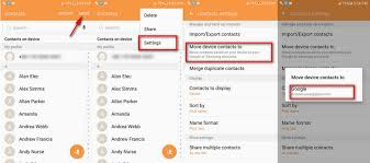 how to backup android contacts contacts backup and restore 3 ways to backup android contacts