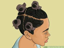 using gelatin for your hairstyles for women over 50 how to dye hair with jell o with pictures wikihow