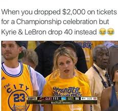 Lebron James Crying Meme - 31 best memes of lebron james kyrie irving torching the golden