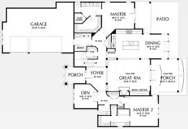 floor plans with two master suites new home building and design home building tips