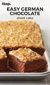 easy german chocolate sheet cake recipe best cake 2017