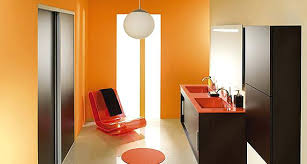 chambre orange et marron chambre orange et marron salle bain orange marron deco chambre