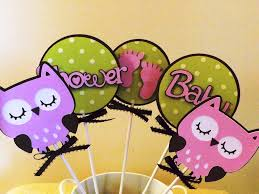 diy owl decorations for baby shower u2014 jen u0026 joes design